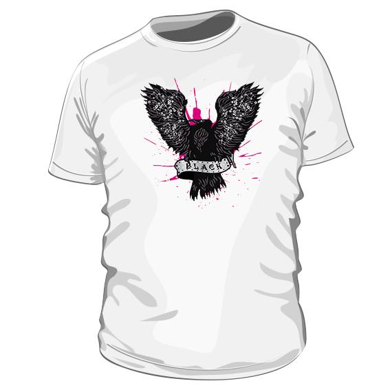 fca2f6af39f0 Black – pánske bavlnené tričko s potlačou – Teez.sk – štýlová ...