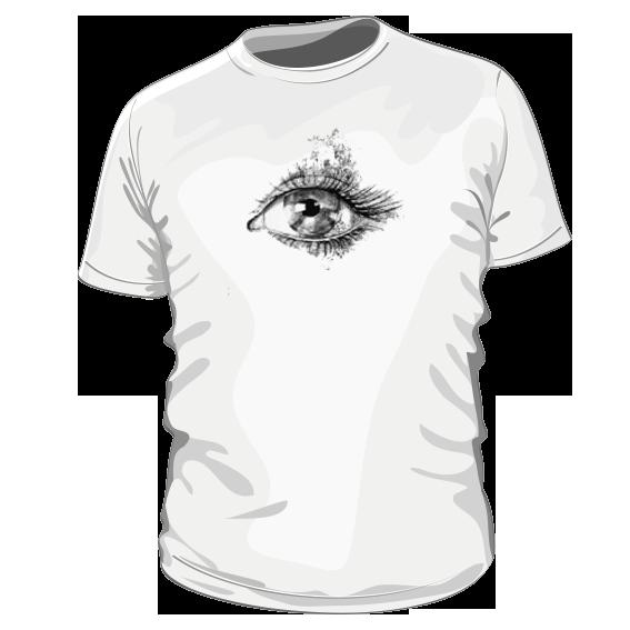 de6a0d0b1a87 Eye – pánske bavlnené tričko s potlačou – Teez.sk – štýlová kvalita ...