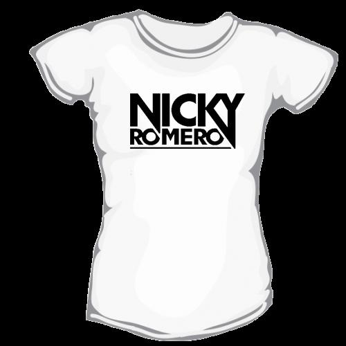 600f95880461 Nicky Romero – dámske bavlnené tričko s potlačou – Teez.sk – štýlová ...